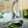 Grohe K4 Sink Mixer Tap with Pull Out Spray Stainless Steel small Image 4