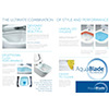 Ideal Standard Concept Air Aquablade 545mm Wall Hung WC Pan small Image 4