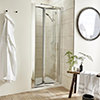 Nuie Premier Pacific 1000 x 1850mm Bi-Fold Shower Door small Image 4