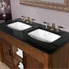 Imperial Barrington Twin Vanity Unit 1240 x 840mm Wenge small Image 4