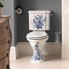 Imperial Oxford WC Pan And High Level Cistern 765mm White small Image 4