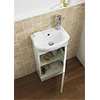 Lauren Sienna Cloakroom Gloss White Furniture Pack small Image 4