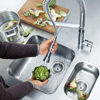 Grohe K7 Professional Kitchen Sink Mixer Tap small Image 4