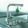 Grohe Minta Sink Tap With Pull Out Spout Extractable Mousseur small Image 4