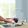 Grohe Minta Touch Electronic Single Lever Kitchen Tap With Pull Out Spray small Image 4