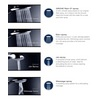 Grohe New Tempesta 600mm Slide Rail With 4 Mode Shower Handset small Image 4