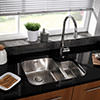 Astracast Edge D1 Polished Stainless Steel Undermount Sink - 1.5 Bowl small Image 4