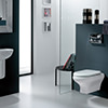 RAK Compact Wall Hung Toilet Pan With Urea Soft Close Seat small Image 4