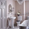 Heritage Claverton Close Coupled WC Pan White 711mm And Cistern small Image 4