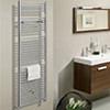 Bauhaus Design 600 x 1430mm Flat Panel Towel Rail small Image 4