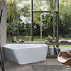 Duravit Paiova 1770mm 5 Corner Left Bath With Panel And Combi System L small Image 4