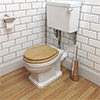 Pura Imex Wyndham Traditional Toilet Low Level Set small Image 4