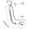 Crosswater Kai-Svelte Digital Bath Filler And Shower Slide Rail Pack 08 small Image 4