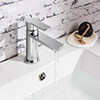Crosswater Wisp Monobloc Basin Mixer Tap Chrome small Image 4