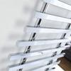 Frontline Samba 700 x 1200mm Designer Radiator Polished Chrome small Image 4