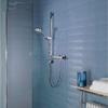 Aqualisa Midas 110 Thermostatic Bar Shower Mixer Valve With Slide Rail Kit small Image 4