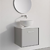 Crosswater Infinity 500mm Wide Wall Mounted Vanity Unit small Image 4
